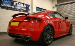 Audi Tt Red Tfsi Gtechniq Silver Features