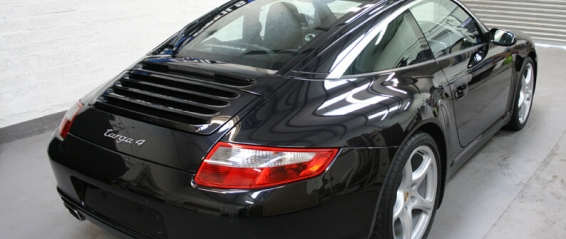 Porsche 997 Targa Featured