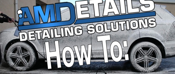 Amdetails How To Snowfoam